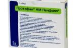 Инсулин изофан человеческий генно инженерный, инструкция