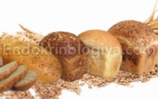 Можно ли есть хлеб при сахарном диабете 2 типа